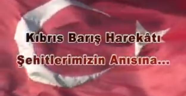 TSK'dan Kıbrıs Barış Harekâtı Videosu