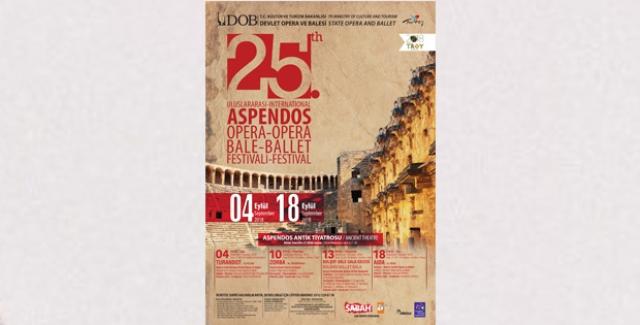 2000 Yıllık Aspendos Opera Ve Bale Festivali İle Yaşama Dönüyor