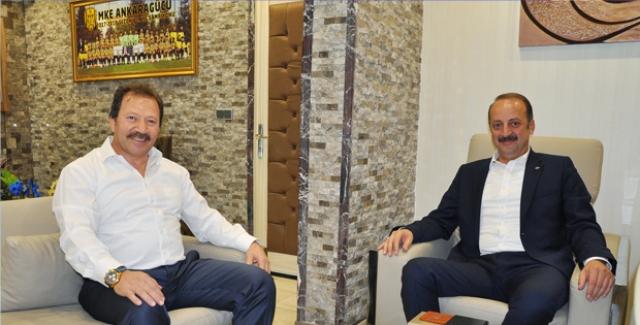Akgül'den Ankaragücü'ne Destek Çağrısı