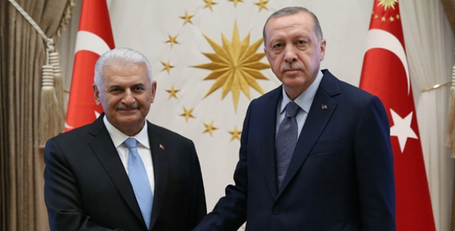 Cumhurbaşkanı Erdoğan, TBMM Başkanı Yıldırım'ı Kabul Etti