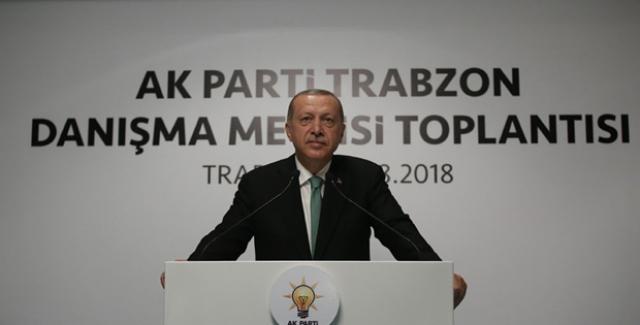 Cumhurbaşkanı Erdoğan'dan ABD'ye: Hadi Güle Güle Deriz