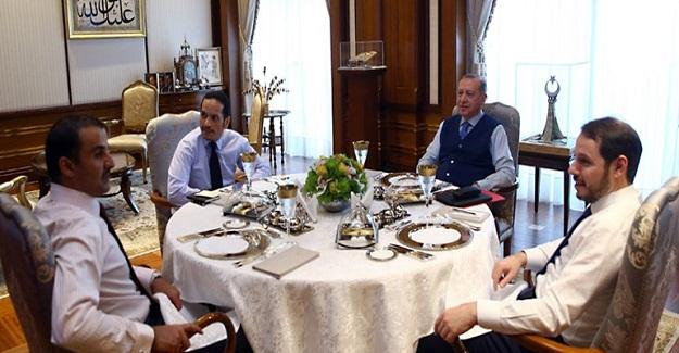 Cumhurbaşkanı Erdoğan Al Sani İle Bir Araya Gelecek