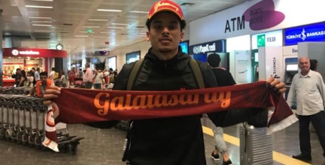 Galatasaray'ın Yeni Transferi Tai Webster İstanbul'a Geldi