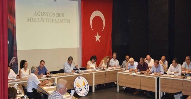 Kuşadası Belediye Meclisi Ağustos Ayı Toplantısını Yaptı