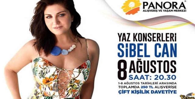 Sibel Can, İlk AVM Konseri İçin Panora'da