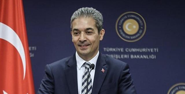 Aksoy: Yunanistan'ın Batı Trakya'daki Türklerin Beklentilerini Dikkate Almasını Bekliyoruz