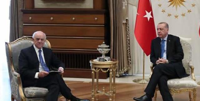 Cumhurbaşkanı Erdoğan BBVA Yönetim Kurulu Başkanı Gonzalez'i Kabul Etti