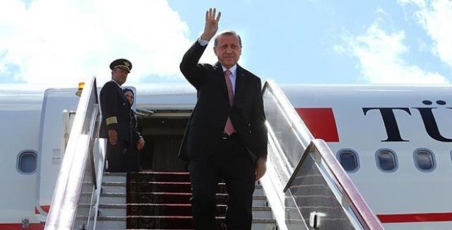 Cumhurbaşkanı Erdoğan Soçi'ye Gitti