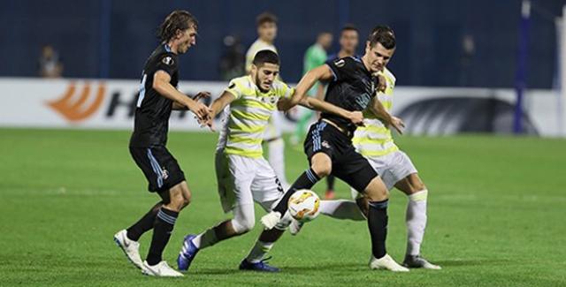 Fenerbahçe, Zagreb'e Boyun Eğdi