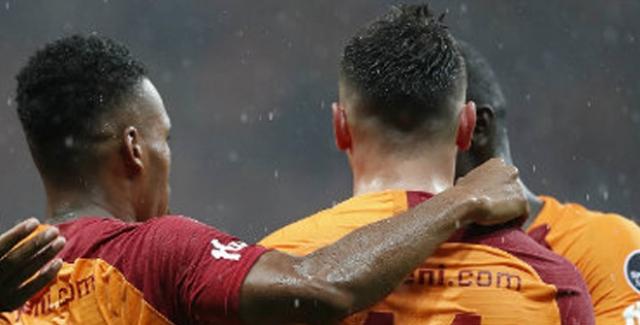 Galatasaray Kasımpaşa'yı 4'ledi