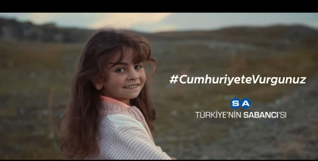 """Sabancı Holding 95. Yılında """"Cumhuriyete Vurgunuz"""" Diyor"""