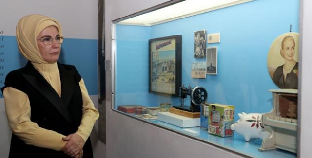 Emine Erdoğan, Arjantin'de Evita Müzesi'ni Ziyaret Etti