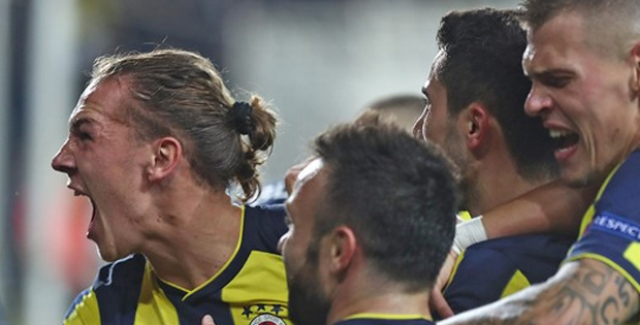 Fenerbahçe, Anderlecht'i Rahat Yendi