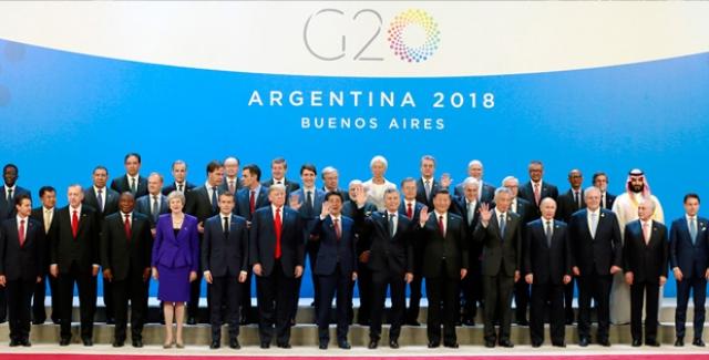 G20 Liderler Zirvesi Arjantin'de Başladı