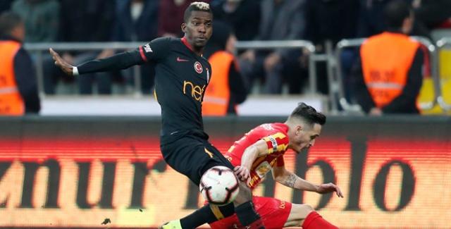 Galatasaray, Kayserispor'u 3-0 Mağlup Etti