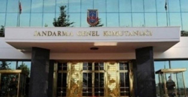 Jandarma Genel Komutanlığına FETÖ Operasyonu: 7'si Muvazzaf 12 Şüpheliye Gözaltı