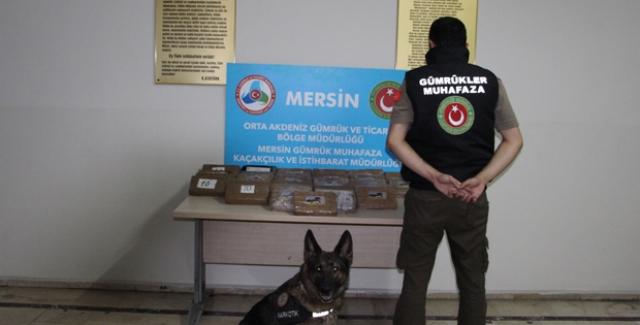 Mersin Limanında Gerçekleştirilen Operasyonda 39 Kilogram 575 Gram Kokain Ele Geçirildi