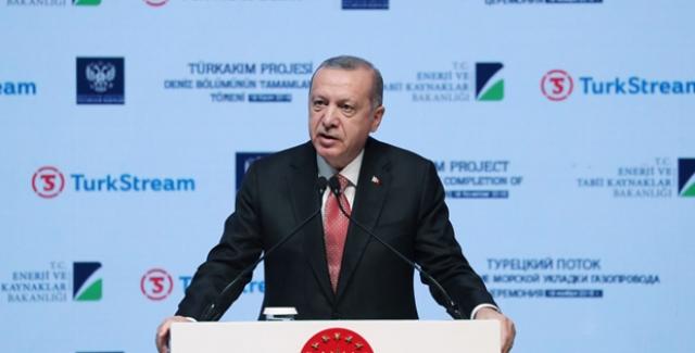"""""""TürkAkım, Bölgemiz Enerji Jeopolitiği Bakımından Tarihî Nitelikte Bir Projedir"""""""