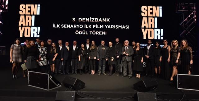 DenizBank İlk Senaryo İlk Film Yarışması'nda Ödüller Sahiplerini Buldu
