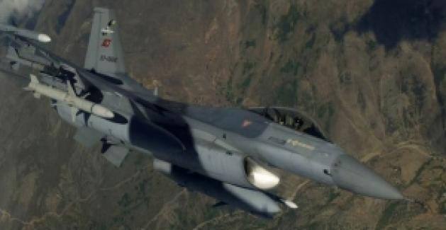 Gara Bölgesine Hava Harekatı: 13 Terörist Etkisiz Hale Getirildi