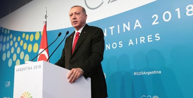 """""""Suriye'nin Kuzeyinde Ülkemizin Ve Bölgemizin Güvenliğine Tehdit Oluşturan Hiçbir Yapıya İzin Vermeyeceğiz"""""""