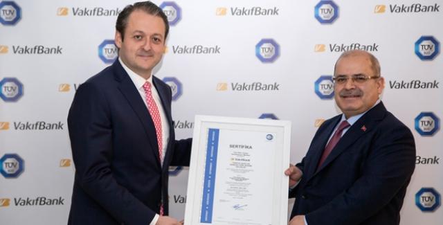 VakıfBank'a OHSAS 18001 Sertifikası