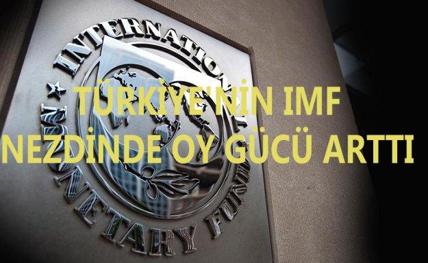 Türkiye'nin IMF Nezdinde Oy Gücü Arttı