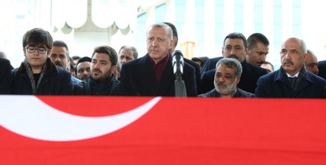 Cumhurbaşkanı Erdoğan, AK Parti Erzurum Eski Milletvekili Aksak'ın Cenazesine Katıldı