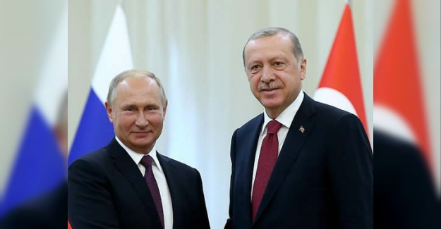Cumhurbaşkanı Erdoğan Moskova'da
