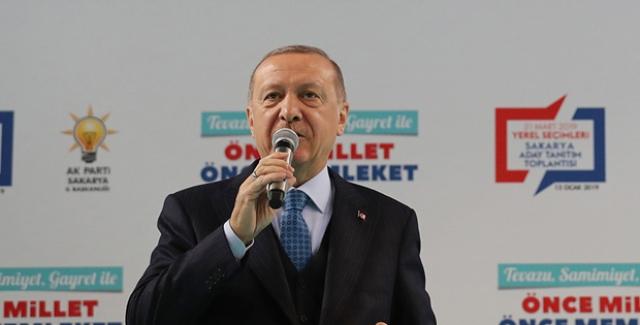 Cumhurbaşkanı Erdoğan, Sakarya İlçe Belediye Başkan Adaylarını Açıkladı