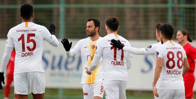 Galatasaray Hazırlık Maçında Eskişehirspor İle 3-3 Berabere Kaldı
