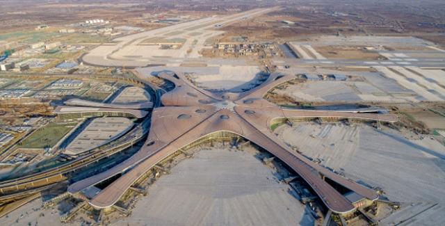 Pekin'in Yeni Havalimanını 2025 İtibariyle Yılda 72 Milyon Yolcu Ziyaret Edecek