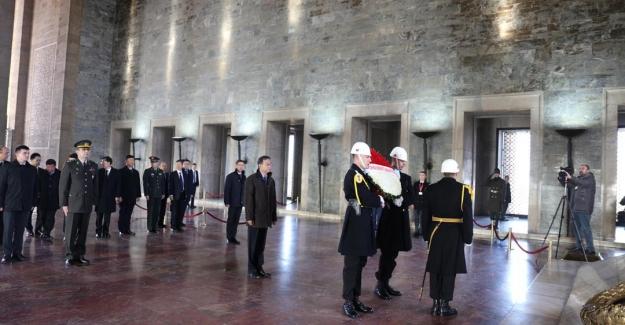 Çin Halk Cumhuriyet'i Ankara Büyükelçisi'nden Anıtkabir Ziyareti