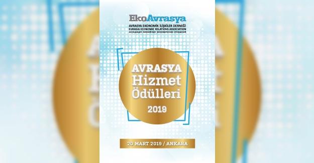 """""""2019 Avrasya Hizmet Ödülleri"""" Sahiplerini Buluyor…"""