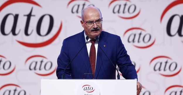 """ATO Başkanı Baran, """"Rotamız Daima Ekonomik Büyüme"""""""