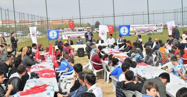 Başkan Çetin Sporcunun Yanında