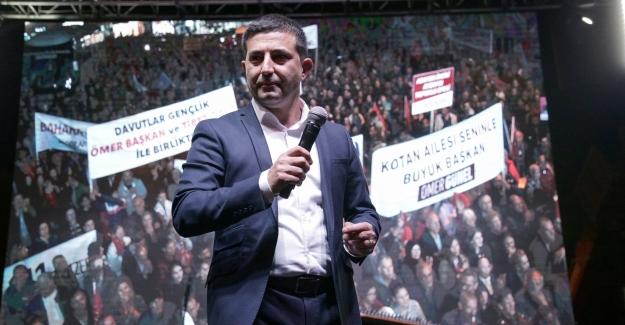 CHP Kuşadası Mitingine Meydan Yetmedi