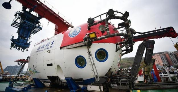 Çin'in İnsanlı Suya Batırılabilir Yeni Aracı Görevini Tamamladı