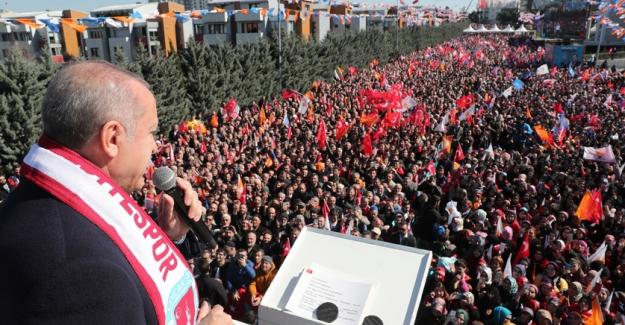 """Cumhurbaşkanı Erdoğan: """"Anadolu Yakasının En Büyük Şehir Hastanesini Kuracağız"""""""