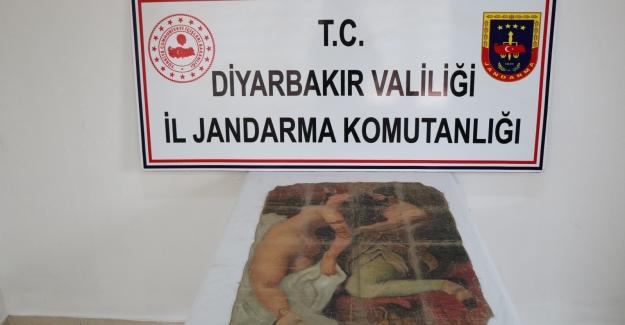 Diyarbakır'da Tarihi Tablo Satmaya Çalışan 5 Şüpheli Gözaltına Alındı
