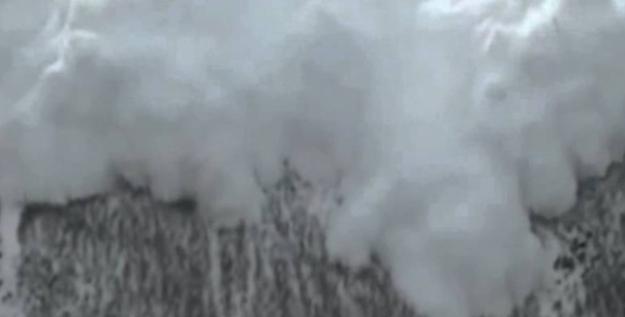 Doğu Karadeniz'in İç Kesimleri ile Doğu Anadolu'nun Doğusundaki Çığ Tehlikesine Dikkat!