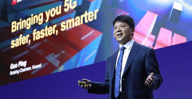 Huawei CEO'su Guo Ping: Daha Fazla Güvenlik İçin Huawei Tercih Edilmeli
