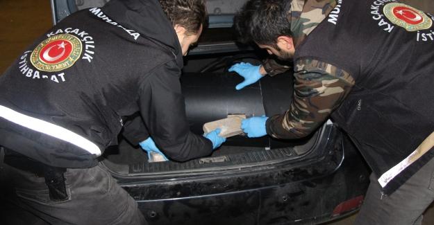 Kapıkule Sınır Kapısında 20 Kilogram 536 Gram Eroin Ele Geçirildi