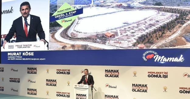Murat Köse, Mamak Projelerini Açıkladı