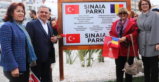 Sinaia Parkı Açıldı