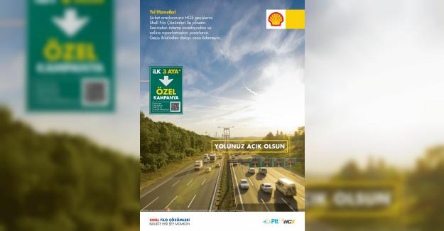 Shell & Turcas ile PTT'den Şirket Araçlarına Özel HGS Hizmeti