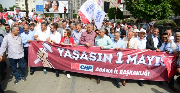 Adana'da Uzun Yıllar Sonra Bir Büyükşehir Belediye Başkanı Emekçilerle Yürüdü