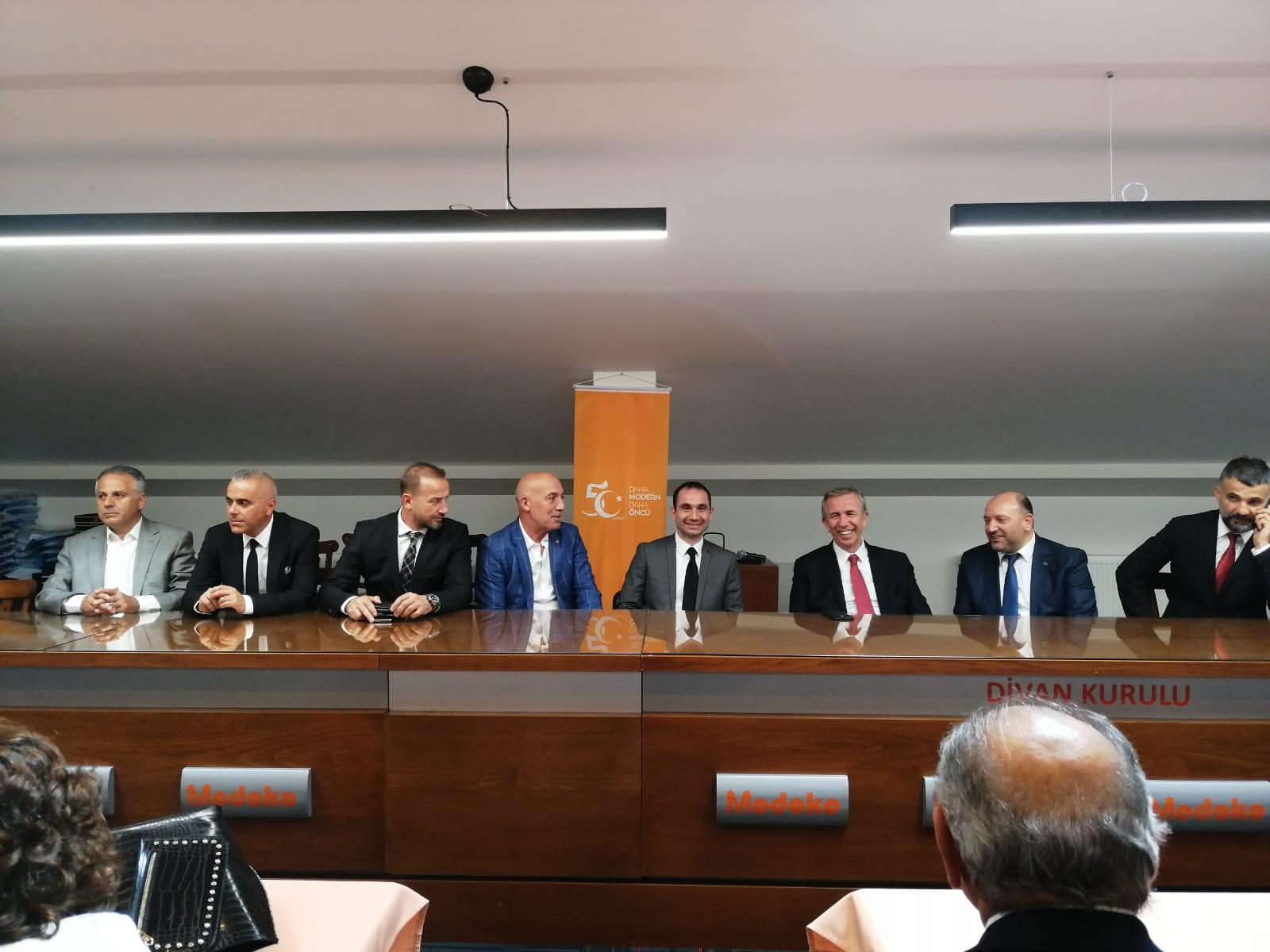 Ankara Büyükşehir Belediye Başkanı'ndan Modoko'nun Yeni Yönetimine Ziyaret