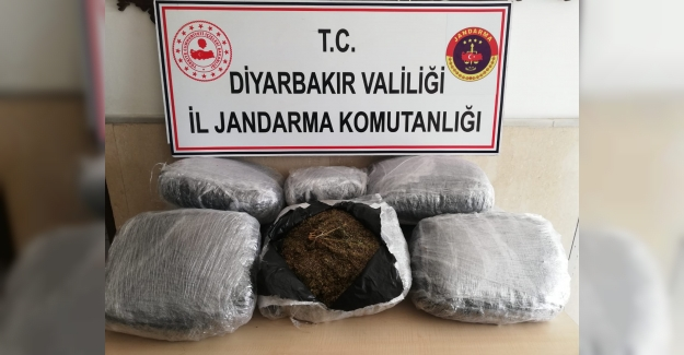 Diyarbakır'da 47,100 Kg Esrar Maddesi  Ele Geçirildi
