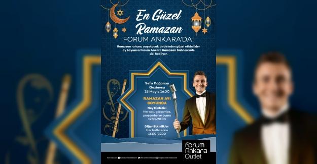 En güzel Ramazan Forum Ankara'da